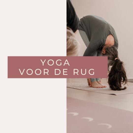 Yoga voor de Rug