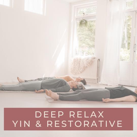 Deep Relax Yin Restorative